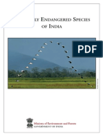 Critically Endangered Species Brochure