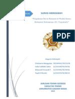 Laporan Survey Hidrografi Waduk Sermo