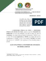 ACÃO CIVIL PÚBLICA - SOLDADOS DA BORRACHA