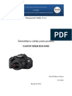 Asigurarea Calităţii Canon 600D_final