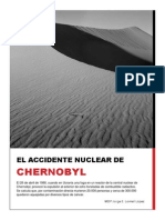 El Accidente Nuclear de Chernobyl