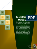 Leonel Gámez  Osheniwó Enseñanzas de un Amigo,  un Hermano, un Maestro.