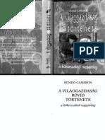 Rondo Cameron - A Világgazdaság Rövid Története a Kőkorszaktól Napjainkig