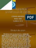 Distrugerea Stratului de Ozon