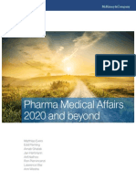 Pharma Medical Affairs 2020