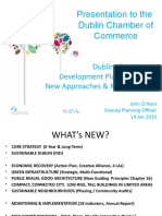 Dublin City Development Plan2011-2017 Presentation to Dublin Chamber