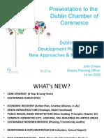 Dublin City Development Plan2011-2017 Presentation to Dublin Chamber