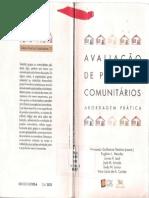 TENÓRIO, Fernando G. (coord.). Avaliação de Projetos Comunitários Abordagem Prática (1).pdf