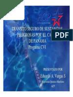 TRANSITO SEGURO DE SUSTANCIAS PELIGROSAS POR EL CANAL DE PANAMÁ