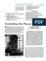 Controlling Gin Flavor