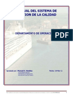MANUAL DEL SISTEMA de Gestion de Calidad