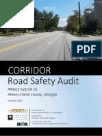 Draft Road Safety Audit Prince Avenue 10-29-2014
