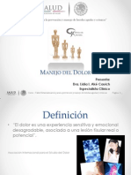 4. Manejo Del Dolor, L. Ake