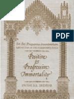 Prapanna-Jivanamritam (Positive and Progressive Immortality) by Srila Bhakti Raksak Sridhar