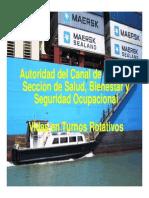 Turnos Rotativos en el Canal de Panamá