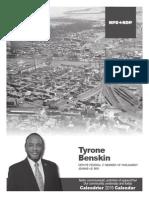 Calendrier 2015 - L'histoire de notre circonscription