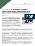 Página_12 __ El País __ Macri, Un León Para Hacer Negocios