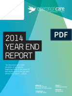 Operation Care 2014 End Of Year Report