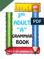 Grammar Book for 3rd A