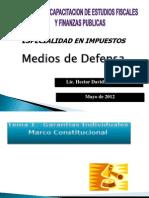 Medios de Defensa CENCAFI-2012-2