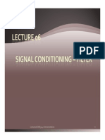 Lecture06 New Signal Conditioning - Filterx
