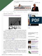 Gerivaldo Neiva - Juiz de Direito_ O CNJ Quer Juízes Ou Técnicos Em _gestão Judiciária_