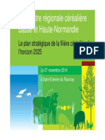 Présentation Du Plan Stratégique Céréales