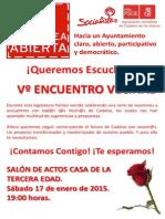 Cartel Encuentro Vecinal-5