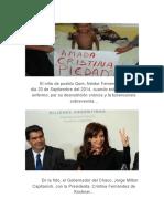 ¡La perversión, de la justicia social, del Justicialismo, y del Peronismo, de la Presidenta, Cristina Fernández de Kirchner, y de todo el Kirchnerismo!