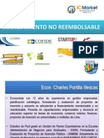 Financiamiento No Reembolsable