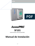 SF101 Manual de Instalación