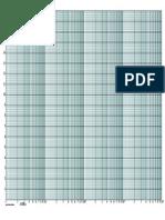 semi log papier pour tracer les courbes