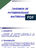 Aula Mecanismos de Patogenicidade
