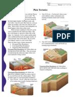 pdf - plate tectonics worksheet