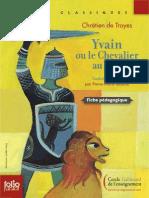 Fiche Pégagogique - Yvain ou le chevalier au lion