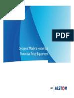 Modern Numerical Relay Design