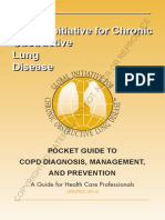 GOLD Pocket Guide 2014  COPD