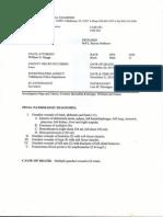 Myron May's autopsy report