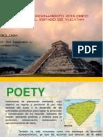 Programa de ordenamiento territorial de Yucatán. POETY.