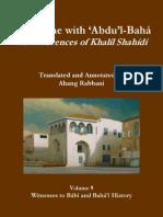 A Lifetime With Abdulbaha