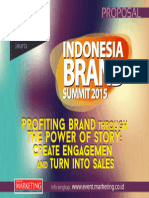 Sponsorship Indonesia Brand Summit 2015