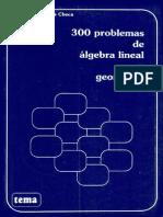 300 Problemas de Algebra Lineal y Geometria