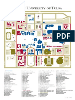 University of Tulsa Campus Map