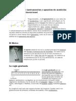 Clasificacion de Instrumentos y Aparatos de Medicion en Metrologia Dimencional Definiciones e Imagenes