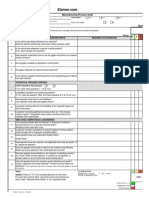 Manufacturing Process Audit Excel Form
