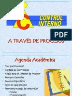 El Control Interno y Procesos