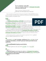 Norme metodologice - Cod Procedura fiscala