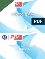 Ergonomía Diagrama Bimanual