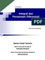 Integral Dan Persamaan Diferensial