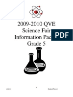 QVE Science Fair Information Packet